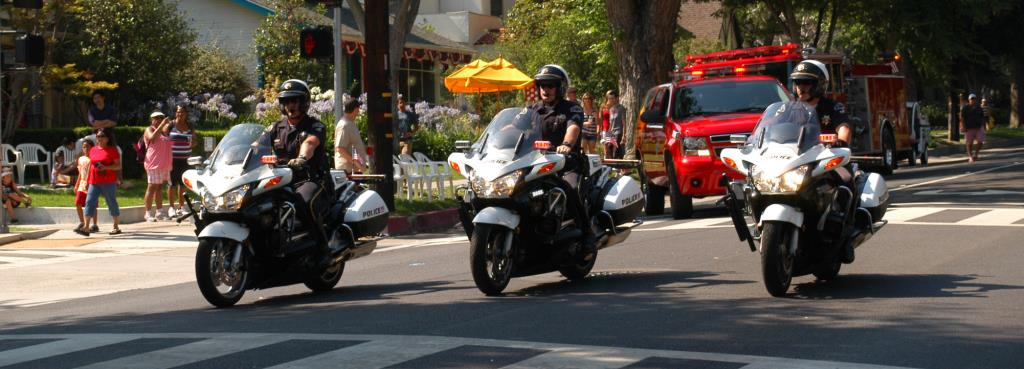 Motor officers 4th of july