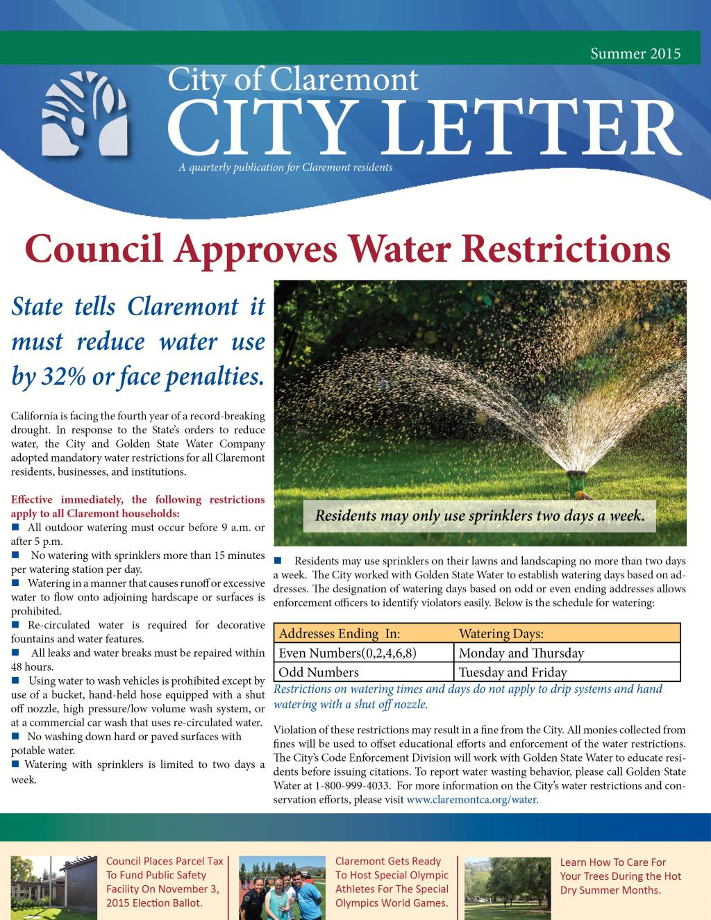 city letter cover