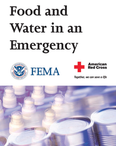 FEMA Food and Water in a Emergency
