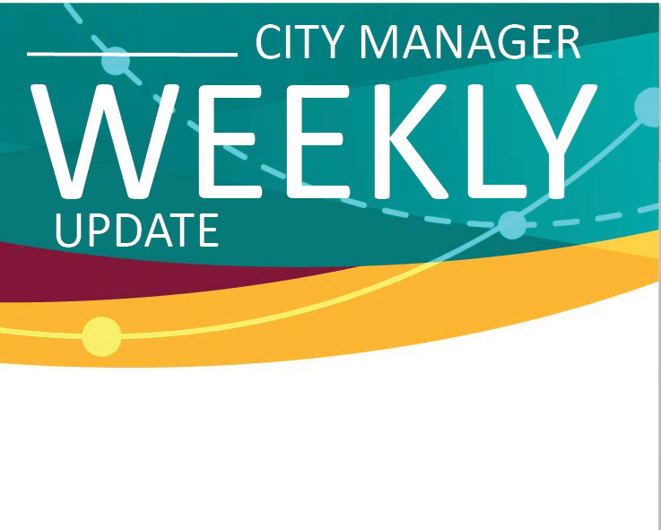 City Manager Weekly - April 19, 2018