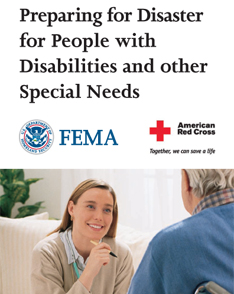 FEMA Preparing for Disasters for People with Disabilities