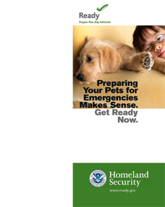 FEMA Preparing Your Pets Pamphlet