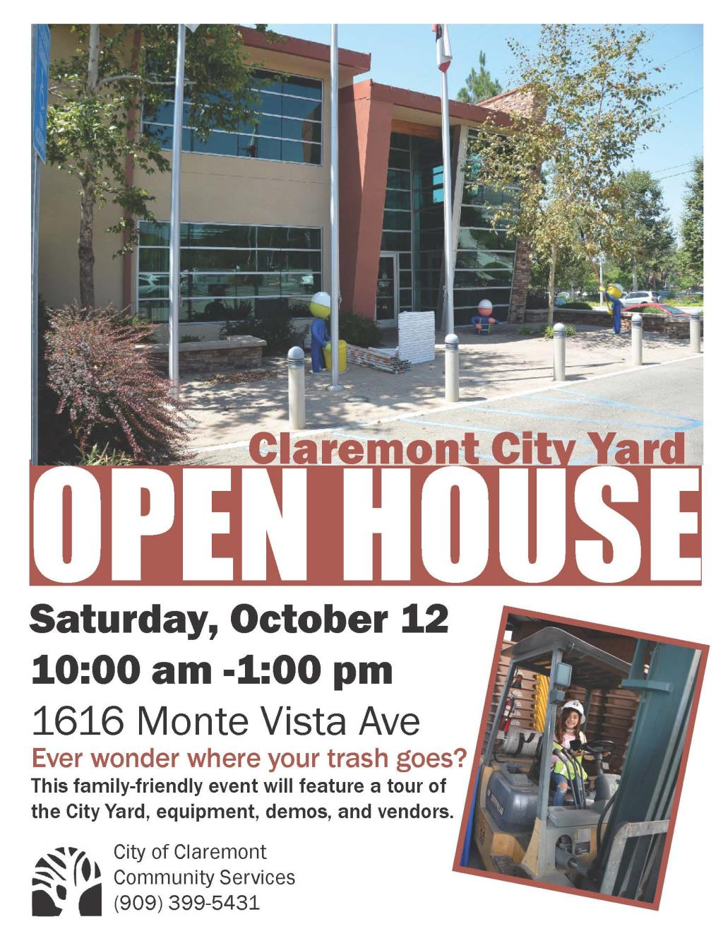 City Yard Open House