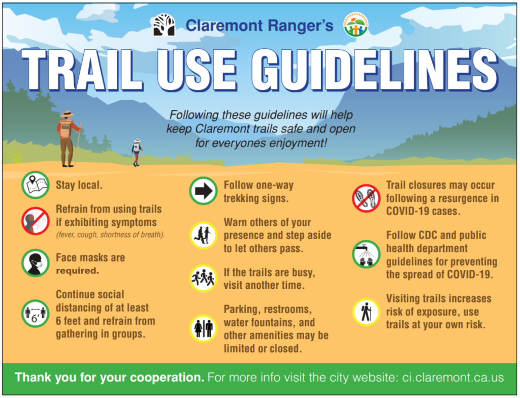 Updated trail guidlines